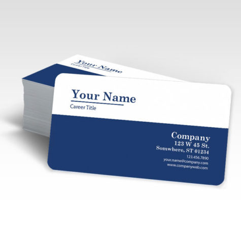 20 Pt Plastic Business Cards With Free